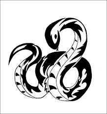 Dessin Tribal Serpent Beau Coloriages à Imprimer Serpent Numéro