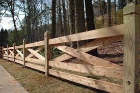 The Cross Wooden Fence Idea For Our New House