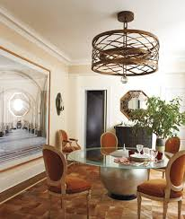Unique Dining Room Light For Luxury Interior Design With Extra Large Glass Table And Wall Painting Ideas