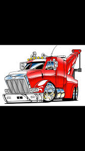 Peterbilt | Car Toons | Trucks, Tow Truck, Cars