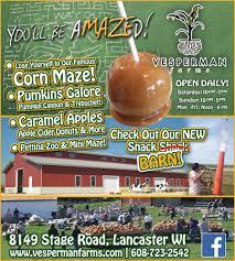 Pumpkin Patch Iowa Dubuque by Vesperman Farms Corn Maze U0026 More U2013 Dubuque365