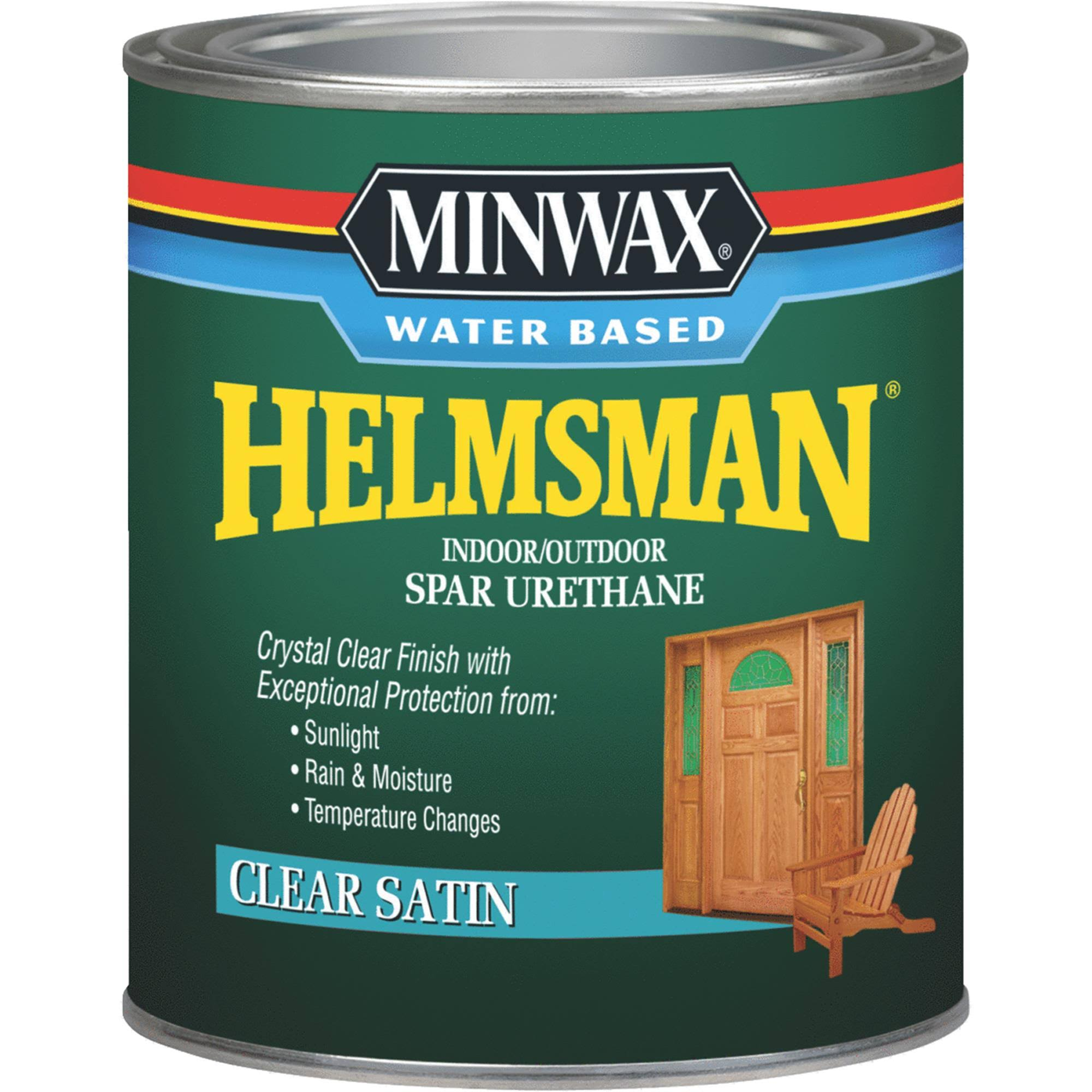 Minwax Water Based Helmsman Indoor/Outdoor Spar Urethane