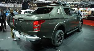 Mitsubishi Pulls The Wraps f All New L200 For Europe