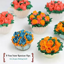 Cakes Decorated With Russian Tips by Amazon Com Limited Time Offer Icing Russian Piping Tips Nozzles