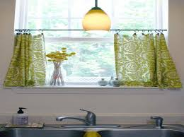chic kitchen curtains for small windows curtains kitchen window