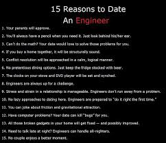 15 Reasons To Date An Engineer