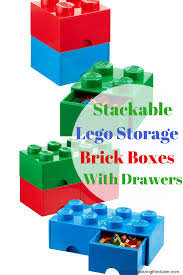 Stackable Lego Storage Brick Boxes Are For More Than Just Legos