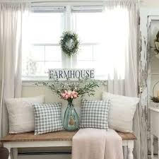 33 Stunning Farmhouse Living Room Curtains Design Ideas And