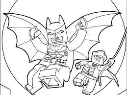 Lego Batman Coloring Pages Hellokidscom
