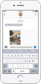 Send photo video or audio messages on your iPhone iPad or iPod