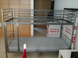 ikea svarta bunk bed with 1 mattress dubai used items