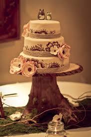 Rustic Vintage Evenig Garden Baby Shower Cake Decoration