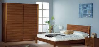 Alpha Teak Bedroom Furniture Set by Beverly Hills Italmoda