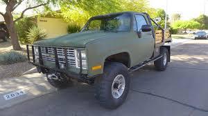 1986 CHEVROLET C/K Pickup 3500 Military CUCV M1008 Army Truck K30 ...