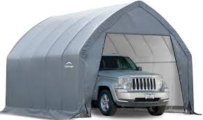 ShelterLogic Crossover/Small Truck 11 X 20 X 9 Ft. 6 In. Grey From ...
