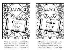 Fruit Of The Spirit Love Coloring Pages With For Kids God Is