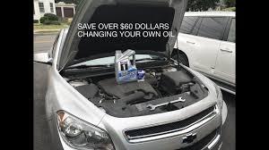 100 2011 Malibu Parts DIY Chevy 24l Oil Change