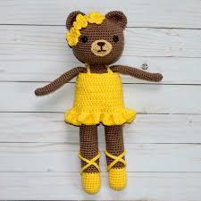 Ballerina Bear Crochet Pattern Free Crochet Patterns Pinterest