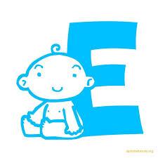Baby Alphabet Blocks in Blue