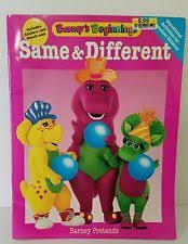 1996 Barney The Dinosaur Activity Coloring Book Stickers Punch Outs
