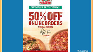 DEAL ALERTS: Get Half Off On Papa Johns Online Order, $10 ... Papa Johns Coupons Shopping Deals Promo Codes January Free Coupon Generator Youtube March 2017 Great Of Henry County By Rob Simmons Issuu Dominos Sales Slow As Delivery Makes Ordering Other Food Free Pizza When You Spend 20 Always Current And Up To Date With The Jeffrey Bunch On Twitter Need Dinner For Game Help Farmington Home New Ph Pizza Chains Offer Promos World Day Inquirer 2019 All Know Before Go Get An Xl 2topping 10 Using Promo Johns Coupon 50 Off 2018 Gaia Freebies Links