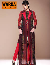 Warda With New Designs Winter Outwears Collection 2013 14