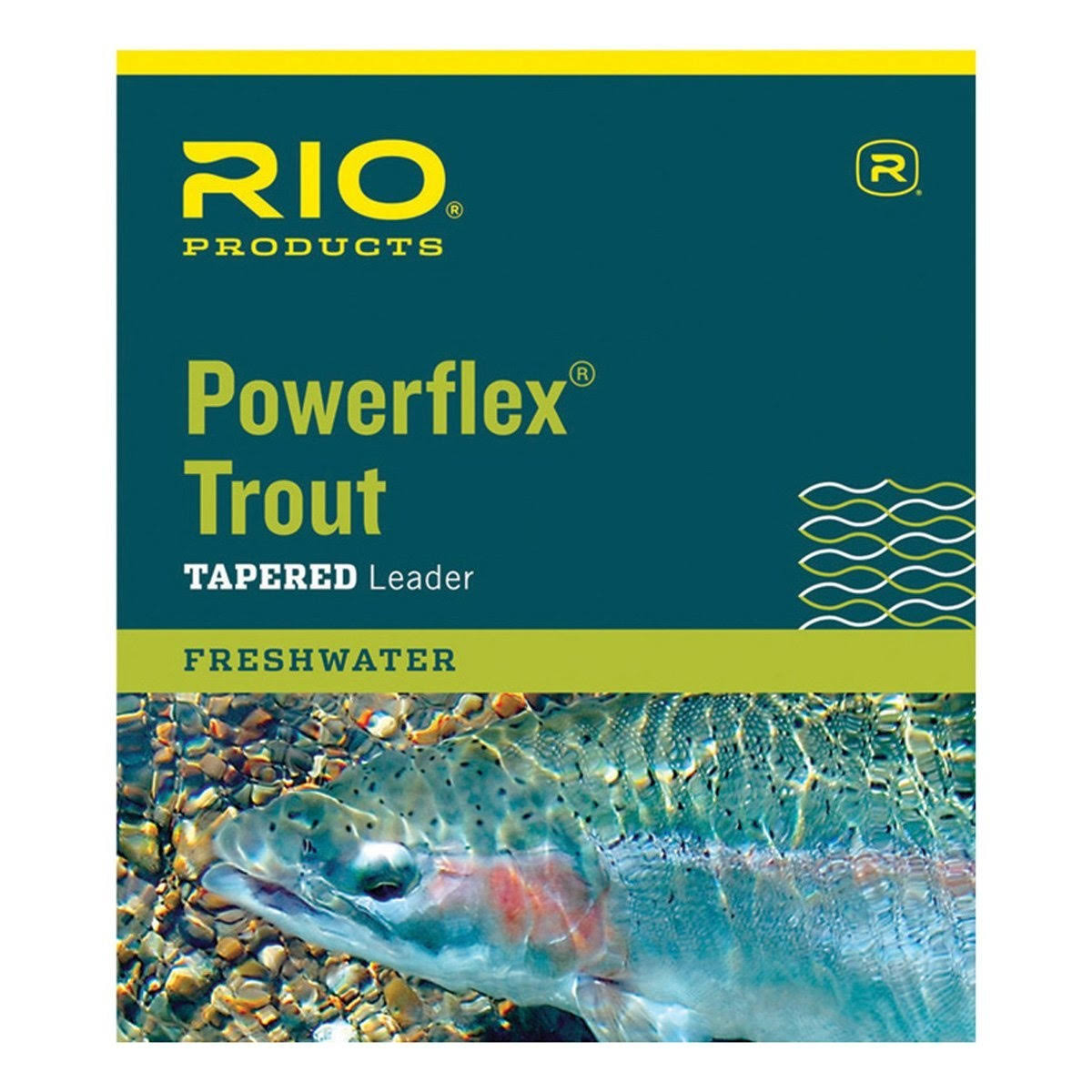 Rio Products Powerflex Trout Tapered Leader - 7-1/2'