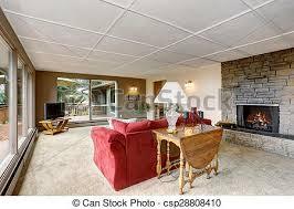 teppich wohnzimmer sofa groß weiß rot teppich