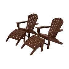Home Depot Plastic Adirondack Chairs by Polywood South Beach Aruba Patio Adirondack Chair Sba15ar The