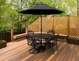 Trex Deck Boards Home Depot by Outdoor Cozy Fiberon Railing For Your Deck Design Ideas