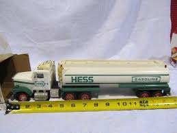 100 Toy Tanker Trucks Hess Truck Box Damaged HiBid Auctions