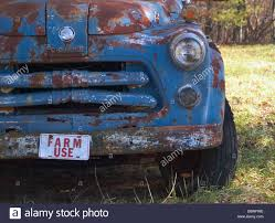100 Blue Dodge Truck Old Blue Farm Truck Stock Photo 21459578 Alamy