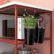 enhet küche rot weiß 183x63 5x222 cm