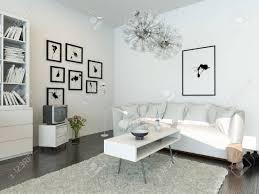 moderne wohnzimmer mit weißen und weißen schrank