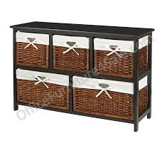 Realspace File Cabinet 2 Drawer by Realspace Outlet 5 Drawer Wicker Storage Chest Black Wicker Sku