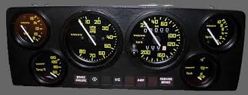white gauges for the volvo 240