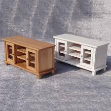 1 12 puppe haus miniatur holz tv schrank wohnzimmer möbel zubehör diy gebäude modell spielzeug für kinder geschenk neue