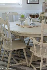 Charming Distressed Dining Room Sets And Best 25 Chalk Paint Table Ideas Only On Home Design