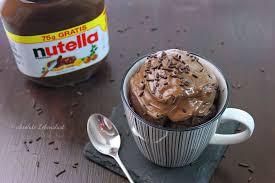 nutella tassenkuchen rezept für backofen und mikrowelle