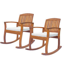 Details About 1PC/2PC Acacia Wood Outdoor Rocking Chair Patio Furniture  Porch Rocker Balcony Moreno Rocking Chair Teak Brown Rapson Mecedora Dedo Mexican Contemporary By Emiliano Molina For Cuchara Woodstock Rocker Modern Adirondack Swivel Counter Addsv621 Faux Leather Bross Classicon Euvira Rocking Chair Cord Seat Finsbury Buy Nye Koncept 332002ro1 Mid Century Avocado Green At Fniture Warehouse Harry Bertoia Style Asymmetrical Lounge
