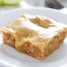 Salted Caramel Apple Sheet Cake Handle the Heat