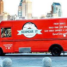 Schmear It, The Bagel Truck With A Conscience - Eater Philly Food Trucks Budget Trailers Design Your Own Pickup Truck Best 2018 20 Ft Ccession Nation The Importance Of Fding Dream Team And Delegating With Heres How To Start A Local Food Truck Community In Your Area Build Own Foodtruck Foodtrucks Deutschland Our Carytown Burgers Fries Richmond Va 5 Menu Ideas For New Owners Miami Kendall Doral Solution Beach Street Sandwiches Offtruck Eating Rop