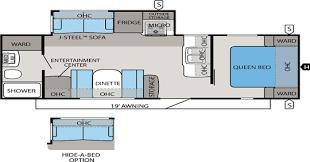 Jayco Fifth Wheel Floor Plans 2018 by Jayco Travel Trailer Floorplans Jims Rv Center