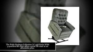 Pride Wall Hugger Lift Chair by Pride Heritage Lift Chairs 800 747 0246 Youtube