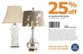 Pier 1 Imports –  f Regular Priced Table Lamps
