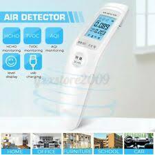 air quality detector hcho co2 analyzer detektor für schlafzimmer indoor led digi