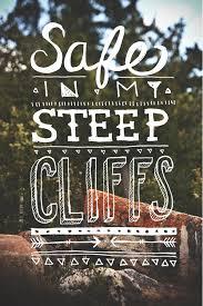 Steep Cliffs By Kari Shea