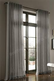 curtains inches long hang linen best extra curtain panels images