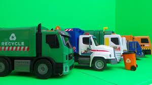 Garbage Trucks: Youtube Toy Garbage Trucks