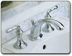 kohler k 394 4 pb devonshire widespread lavatory faucet vibrant